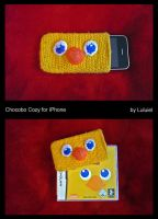 Chocobo Cozy for iPhone by Luluriel