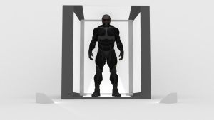 The Nanosuit Exhibition by Binary-Map