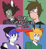 icon commissions open by dumb-tree