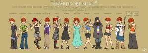 Wardrobe Meme by Shira-chan