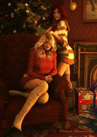 Happy Holidays by donnaDomenitzo