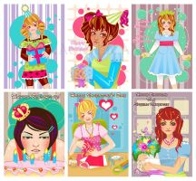 Freelance - Girly Card Designs by marywinkler