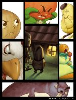 Onion 's Adventure preview by zinph1212