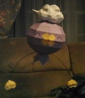 Drifloon Papercraft by littlmiget123