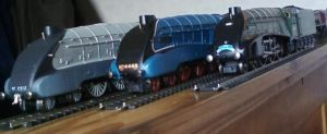 LNER A4 Class by Crystal-Eclair