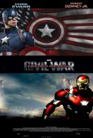 Captain America Civil War 2016 poster by SteveIrwinFan96