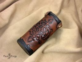 Chaos tube for dice by Hobbit-Leatherworks
