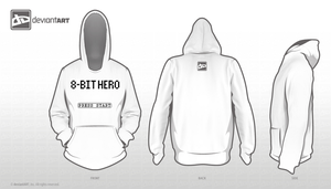8-Bit Hero Shirt 01 by Drayle88