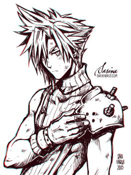 + Cloud Strife + by SaraFabrizi