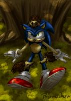 Sonic and small hedgehogs by paurachan