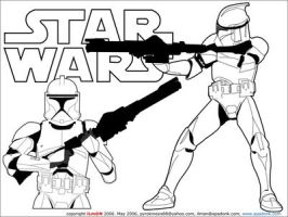 Republic Clone Troopers by ilman05