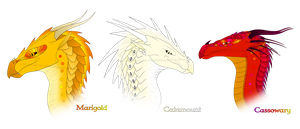 Wings of Fire OC Sale 2 (ALL SOLD) by xTheDragonRebornx