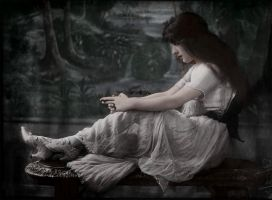 Lady deep in her thoughts by Linnea-Rose