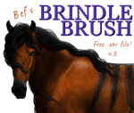 Bef's Brindle Brush by Befera