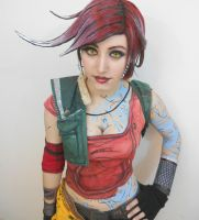 Lilith the Siren aka The Firehawk Cosplay from Bor by Ten-Rox