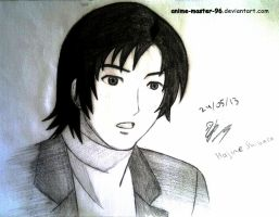 Twelfth Anime drawing ever :D - Hajime Shibata by anime-master-96