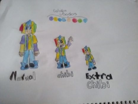 Goldie 3 modelos: Normal,Chibi y Extra Chibi v.2 by GOLDIE2963