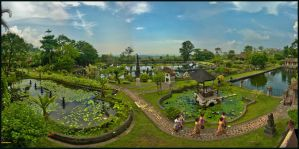 Le Water Palace de Tirtagangga part 4 by partoftime