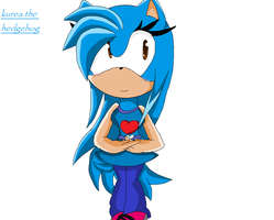 kurea the hedgehog request by barbara-the-hedgecat