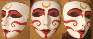 Painted Lady Mask by queenmari