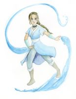 Katara of the water tribe by chronicdoodler
