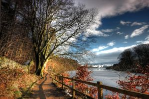 Swinsty Pathway by crowthius