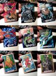 Justice League Sketchcards 001 by PencilInPain