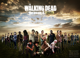 Season 4 personagens The Walking Dead by twdmeuvicio