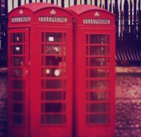 Telephone Boxes by OwlsomeArts