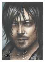 Daryl Dixon PSC ACEO by ConnieFaye