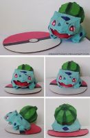 Bulbasaur papercraft by drawwithme15