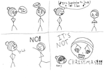 It's Not Christmas by kittenvictory