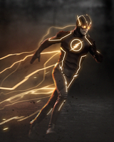 The Flash by LitgraphiX