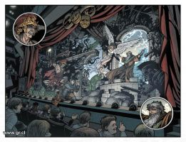 Locke And Key 01 Pg10-11 color by GabrielRodriguez