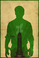 Booker Dewitt - Bioshock Infinite Poster by edwardjmoran