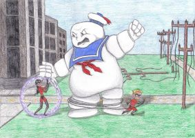 Incredis v. Stay Puft-for Urvy by EternallyOptimistic
