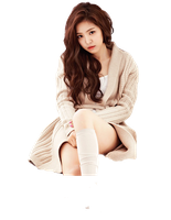 Son NaEun Render by girlchoding