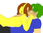 Amber X Ryland (request) by XTomboyxPrincessX
