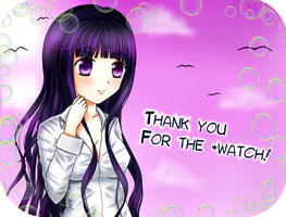 Thank you for the +watch icon by SweetyBat