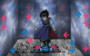 Dance Dance Hiei by Frolay