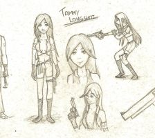 Tammy Longshot - sketch by foxalex