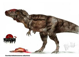 JP- expanded Carcharodontosaurus by Teratophoneus