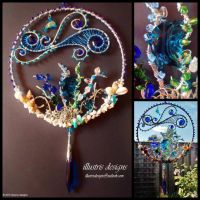 Large suncatcher sealife by illustrisdesigns