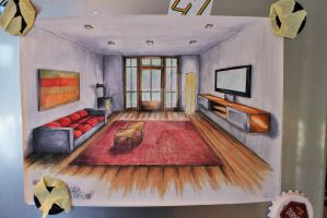 Living room by flying-hirsch