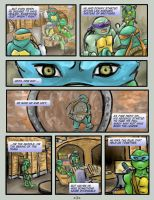 TMNT -page 1- by NsomniacArtist
