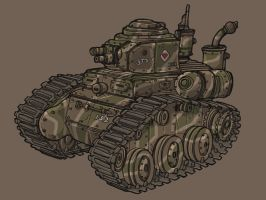Light Tank by spacegoblin