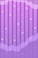 Free Custom background: Dreamy nightsky (purple) by Hoshi-Hana