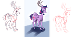 How NOT to draw Twilight Sparkle by MartinHello