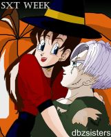 TxS week Halloween by dbzsisters