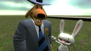 Sam and Max GMOD by BrendanLuik